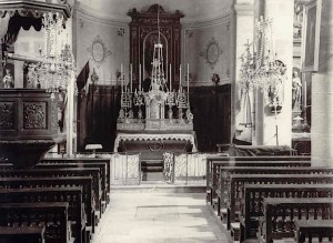 Interieur Eglise 1950