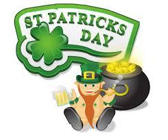 'St Patrick Day' samedi 17 mars 2018…